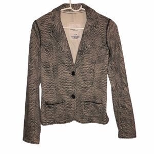 AEROPOSTALE women's tweed herringbone blazer small